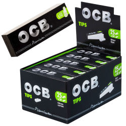 OCB Filtertips 25er Box/50 Tips