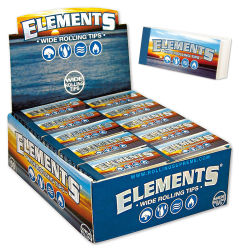 Elements Wide Filtertips 50er Box/50 Tips