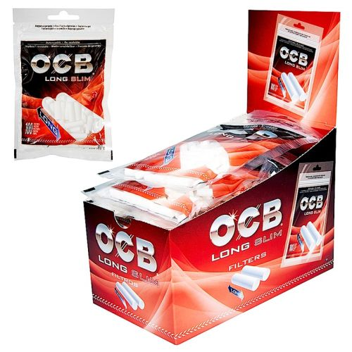 OCB Long Slim Filter 10 x 100er Beutel 6mm
