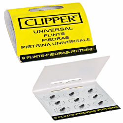 Clipper 9er-Set Flints - Feuersteine